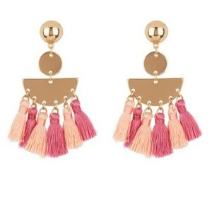🆕️NWT Ettika Multi Tassel Earrings